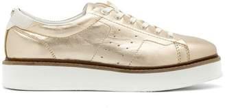Tommy Hilfiger metallic flatform sneakers