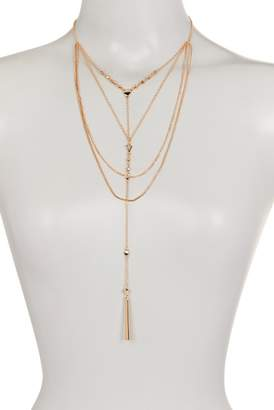 Panacea Layered Bar Pendant Y-Necklace