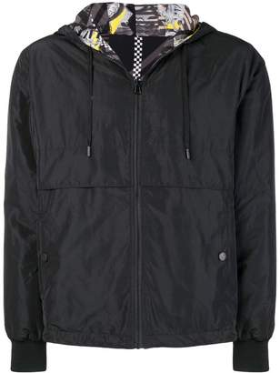 Versace reversible hooded jacket