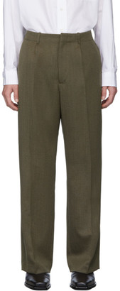 Our Legacy Brown Wool Borrowed Chino Trousers