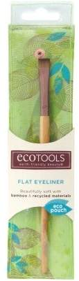 EcoTools Flat Eyeliner Brush (Pack of 2)