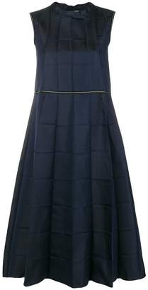 Marni rectangle panelled dress