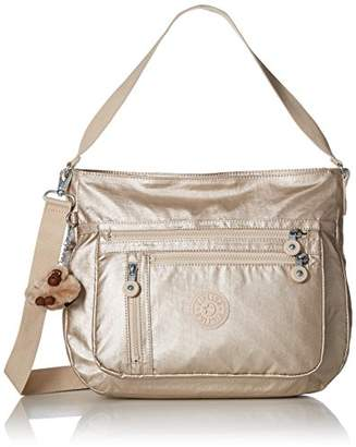 Kipling Elody Black Hobo Convertible Handbag