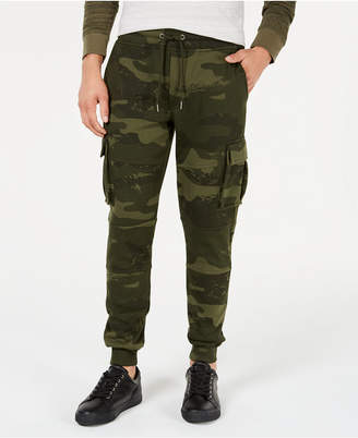 American Rag Men's Camo-Print Cargo Jogger Pants
