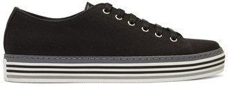 Paul Smith Black Canvas Sotto Sneakers