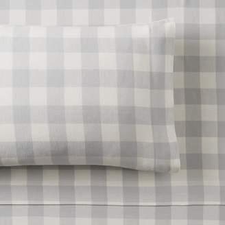 Pottery Barn Teen Buffalo Check Organic Flannel Sheet Set