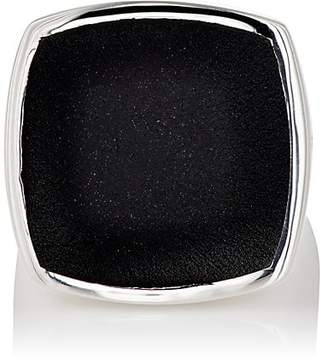 Tom Wood Women's Flush Signet Ring - Silver