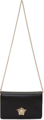 Versace Black Medusa Shoulder Bag $995 thestylecure.com