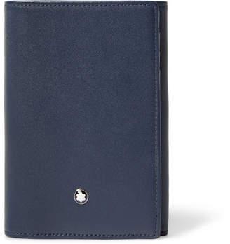 Montblanc Meisterstuck Leather Trifold Cardholder - Men - Navy