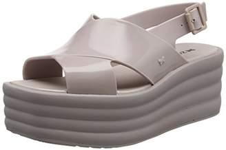 Zaxy Women's Hi-Lo Platform Sandals,39 EU