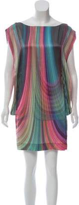 Elizabeth and James Striped Silk Dress