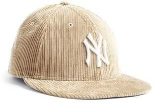 Todd Snyder Exclusive + New Era Corduroy Yankees Cap in Camel