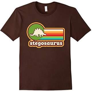 Vintage Graphic Stegosaurus Silhouette 70's Retro T-Shirt