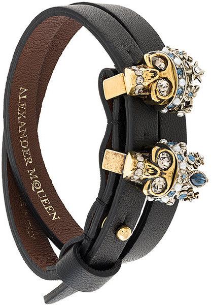 Alexander McQueenAlexander McQueen king skull bracelet