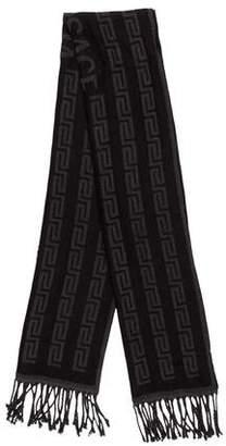 Versace Wool Greca Scarf