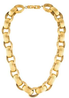 Givenchy Textured Link Necklace