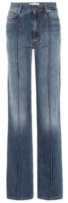 Maison Margiela High-waisted straight-leg jeans