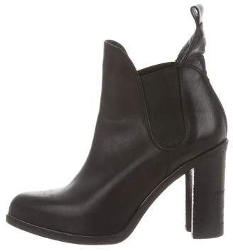 Rag & Bone Leather Pointed-Toe Ankle Boots