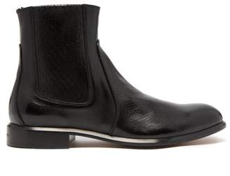 Givenchy Cruz Leather Chelsea Boots - Mens - Black
