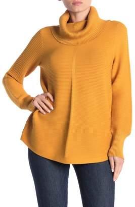 Cyrus Rib Knit Turtleneck Pullover