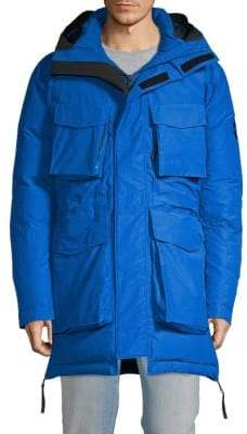 J. Lindeberg Classic Hooded Utility Down Jacket