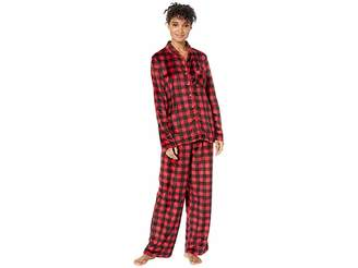 Karen Neuburger Buffalo Plaid Family Long Sleeve Classic PJ Set