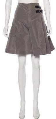 RED Valentino Pleated Knee-Length Skirt