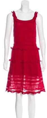 Lanvin Sleeveless Knit Dress