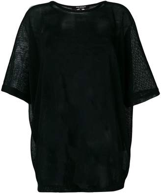 Junya Watanabe scoop neck T-shirt