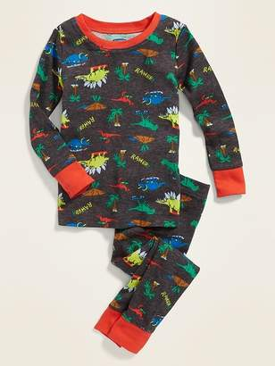 c7d9dd512 Old Navy Dinosaur-Print Sleep Set For Toddler Boys & Baby