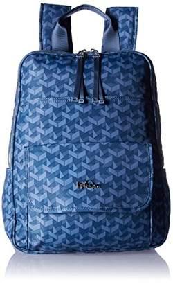 Kipling Sandra Large Printed Laptop Backpack Backpack
