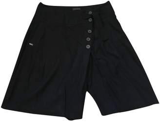 Ikks Black Cotton Skirt for Women