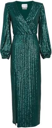 Saylor Becca Sequin Midi Dress
