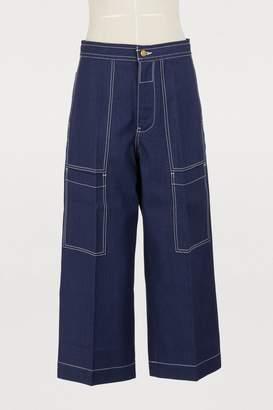 Acne Studios Iron wide-leg jeans