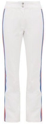 Toni Sailer Luella Striped Ski Trousers - Womens - White Multi