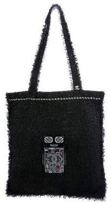 Chanel 2017 Shopping in Fabrics Tote