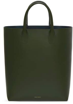 Mansur Gavriel Calf North South Tote - Moss
