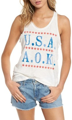 Women's Junkfood Usa Aok Tank $42 thestylecure.com