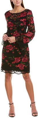 Trina Turk Geddes 2 Silk-Blend Shift Dress