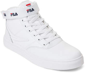 Fila White Filario Mid Sneakers