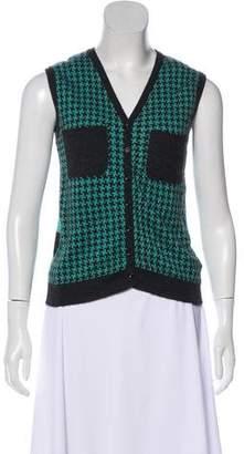 Roland Mouret Cashmere Knit Vest