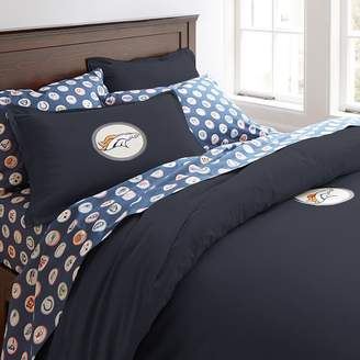 Pottery Barn Teen NFL Patch Duvet Cover, Full/Queen, Navy, San Diego Chargers