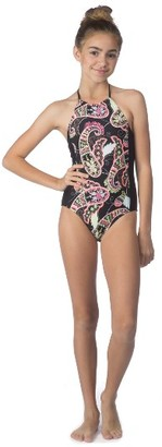 Girl's Hobie One-Piece Swimsuit $44 thestylecure.com