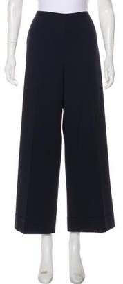 Jean Paul Gaultier High-Rise Wide-Leg Pants