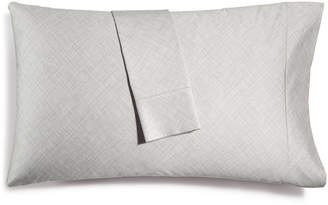 Hotel Collection Closeout! Cotton 525-Thread Count Crosshatch Pair of King Pillowcases, Created for Macy's Bedding