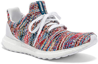 Missoni Adidas By adidas by Ultraboost Clima Sneaker in White & Cyan & Red | FWRD
