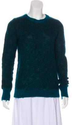 A.L.C. Lightweight Knit Sweater Green Lightweight Knit Sweater