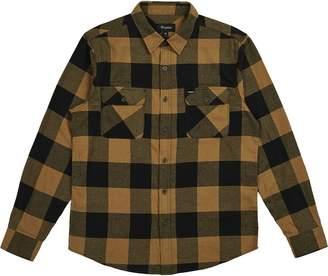 Brixton Bowery Lightweight Long-Sleeve Flannel Shirt - Men's