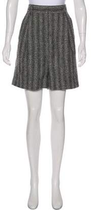 Marc Jacobs Wool High-Rise Shorts