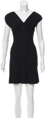 Diane von Furstenberg Mula Ruched Mini Dress